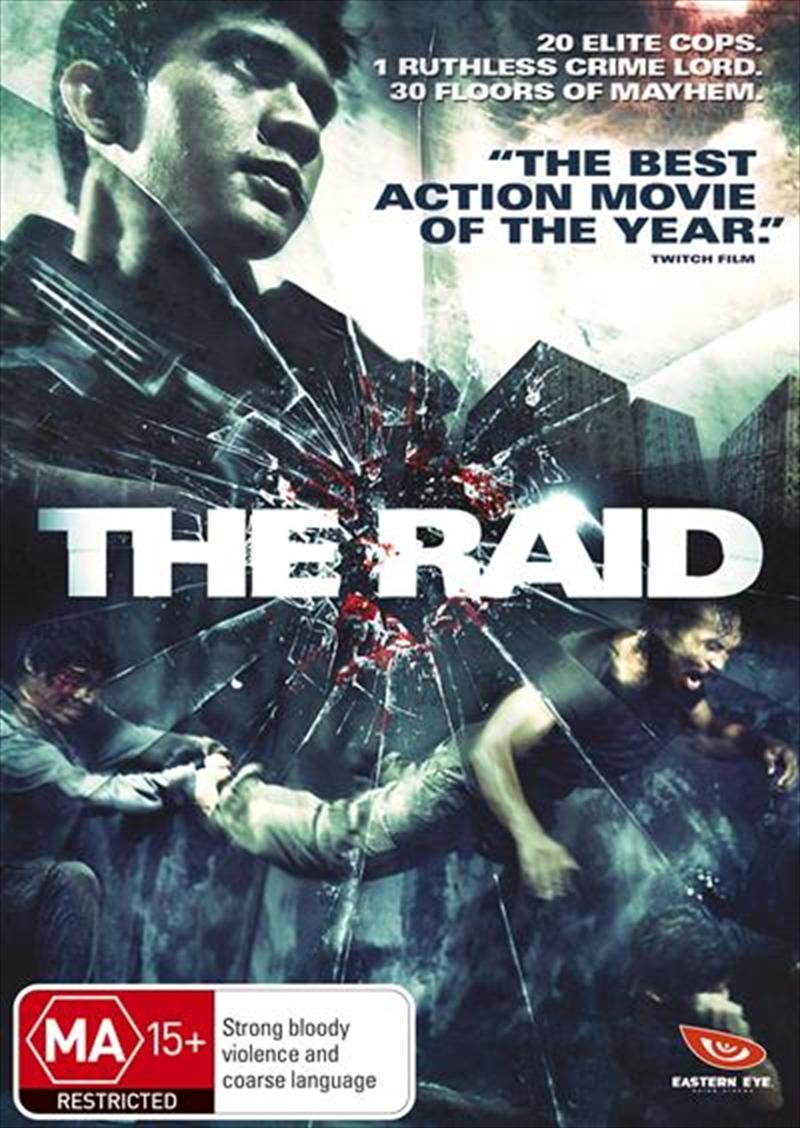 Raid, The   DVD
