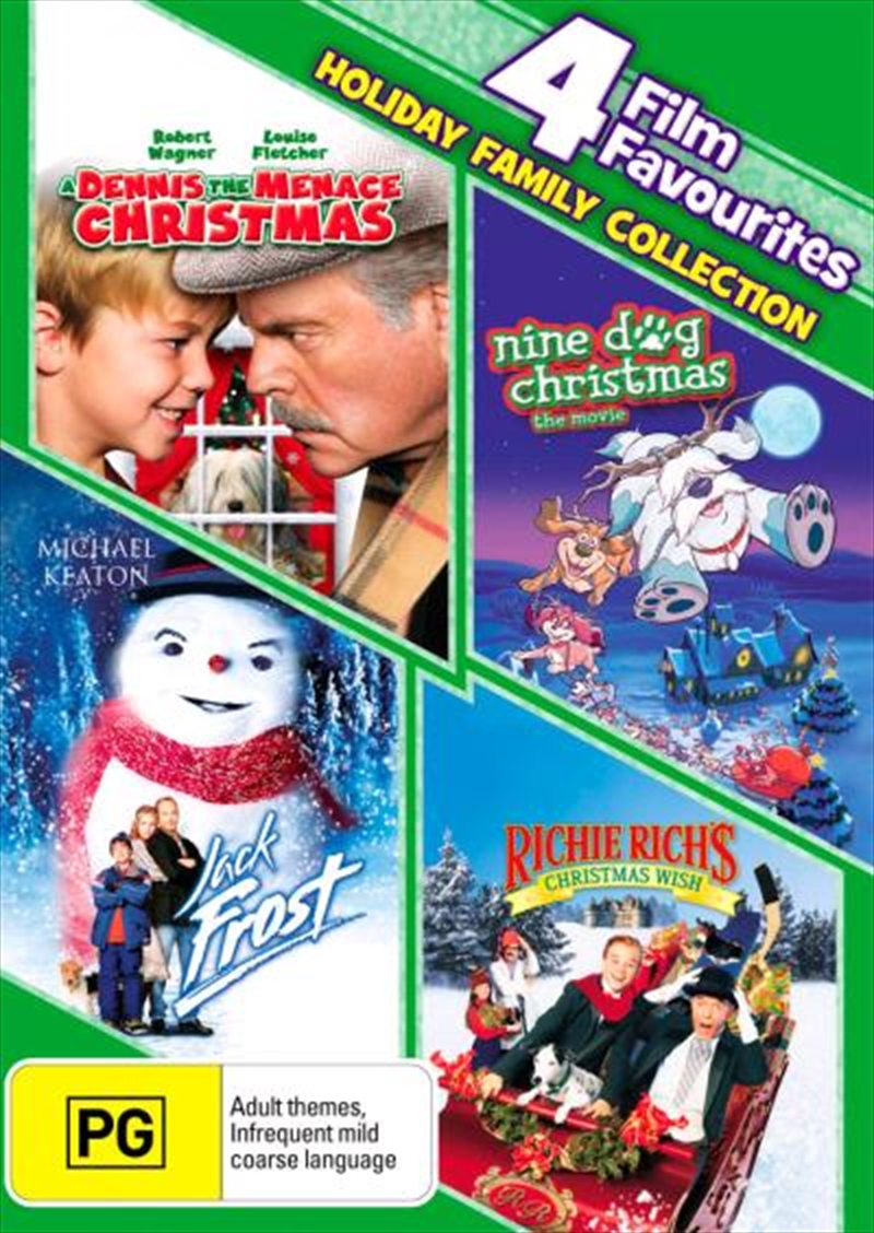 Richie Richs Christmas Wish.A Dennis The Menace Christmas Nine Dog Xmas Jack Frost Richie Rich S Christmas Wish 4 Film F