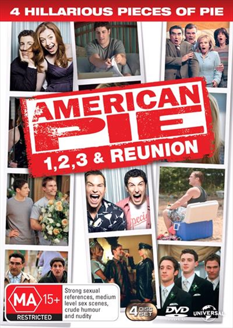 American Pie Quadrilogy - American Pie / American Pie 2 / American Pie - The Wedding / American Pie | DVD