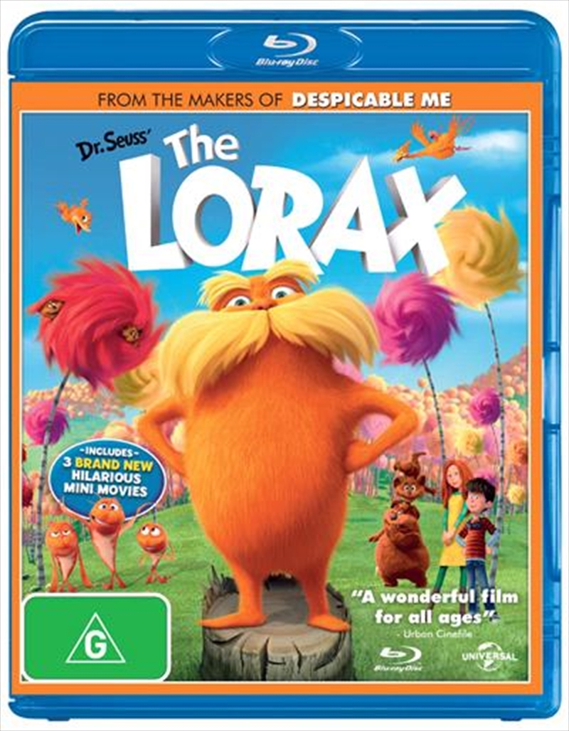 Dr Seuss: The Lorax | Blu-ray