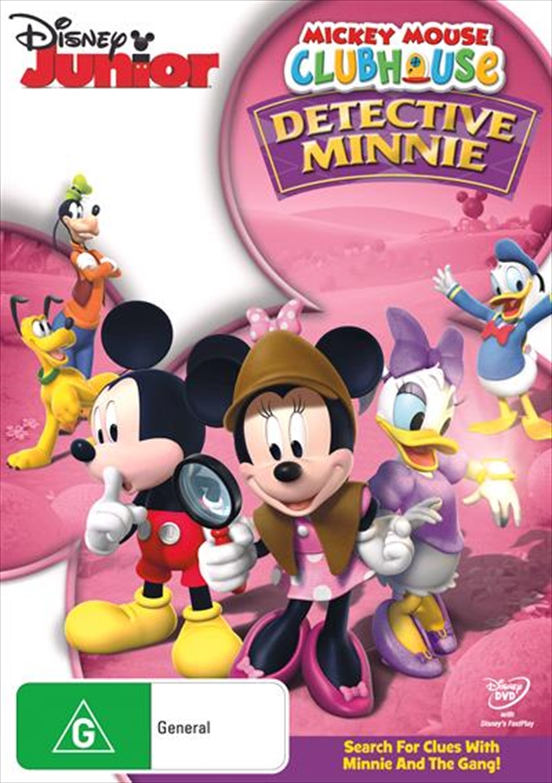 Mickey Mouse Clubhouse - Detective Minnie | DVD