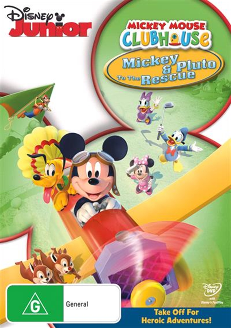 Mickey Mouse Clubhouse - Mickey and Pluto To The Rescue | DVD