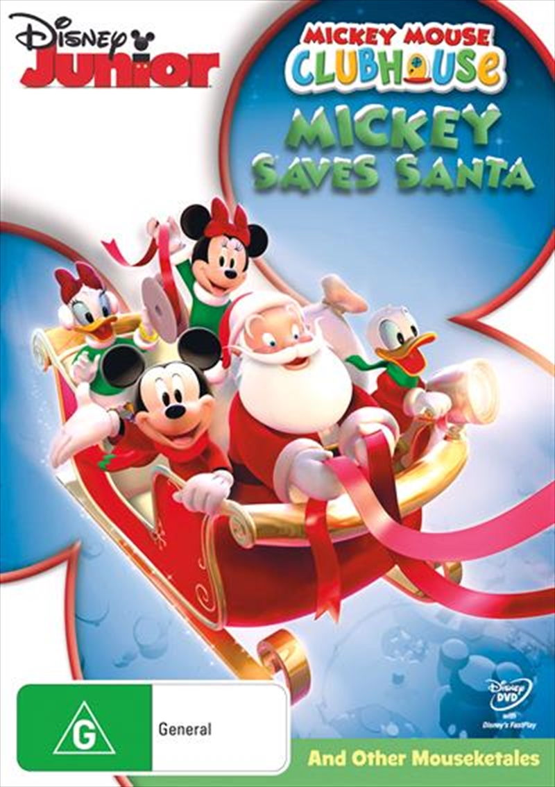 Mickey Mouse Clubhouse - Mickey Saves Santa And Other Mouseketales | DVD