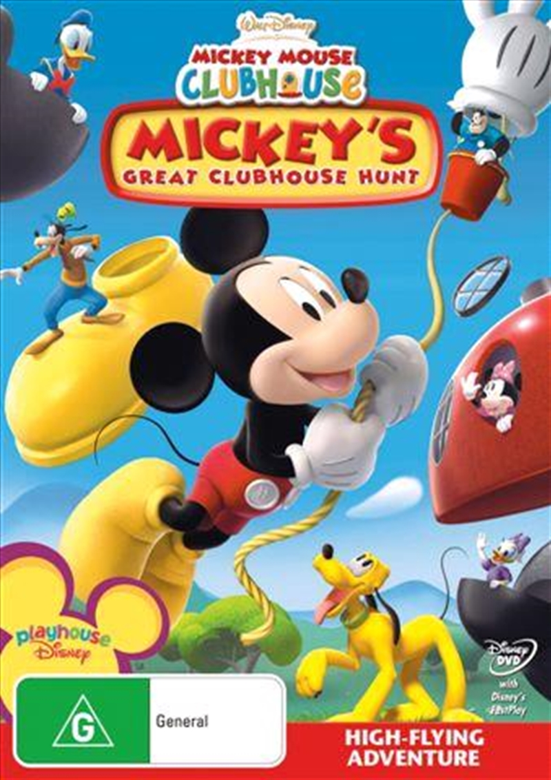 Mickey Mouse Clubhouse - Mickey's Great Clubhouse Hunt | DVD