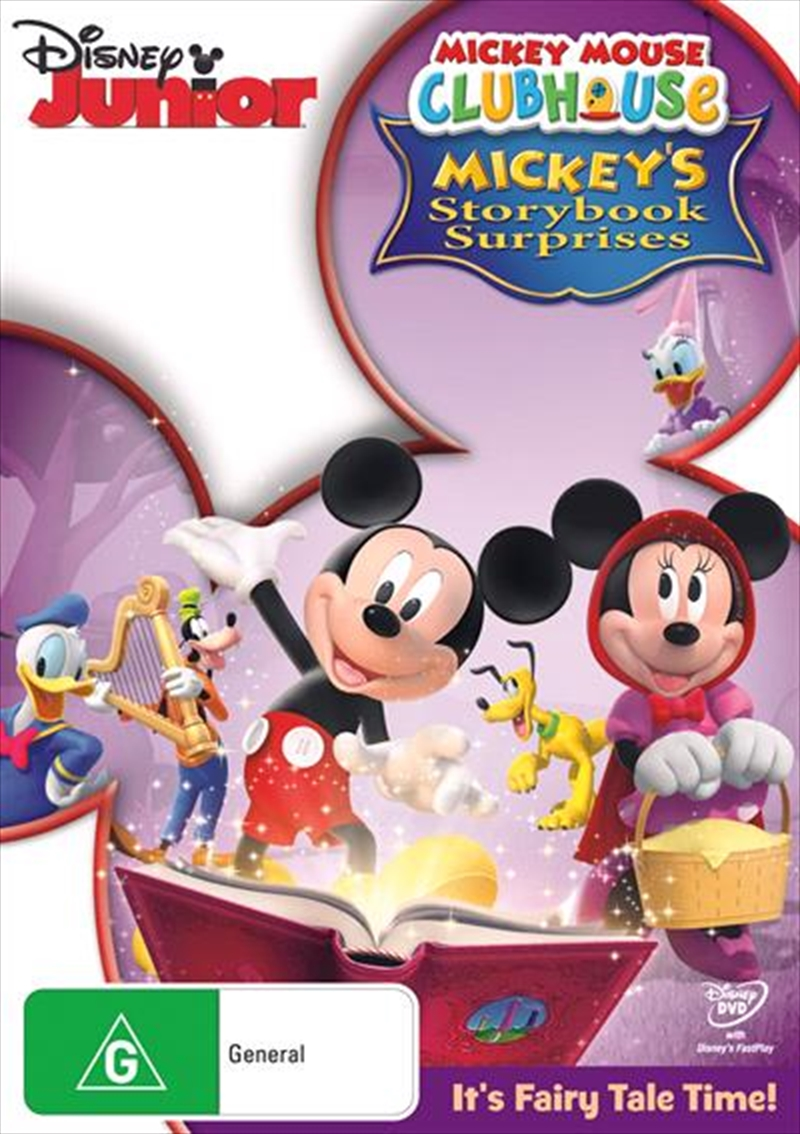 Mickey Mouse Clubhouse - Mickey's Storybook Surprises | DVD