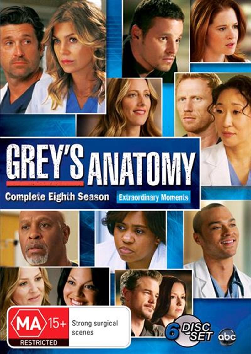 Grey's Anatomy - Season 08 | DVD