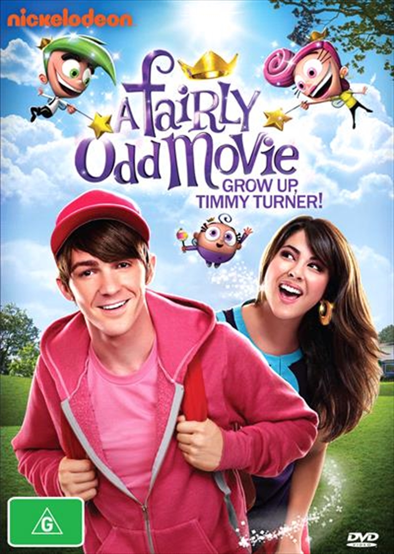 A Fairly Odd Movie - Grow Up, Timmy Turner! | DVD