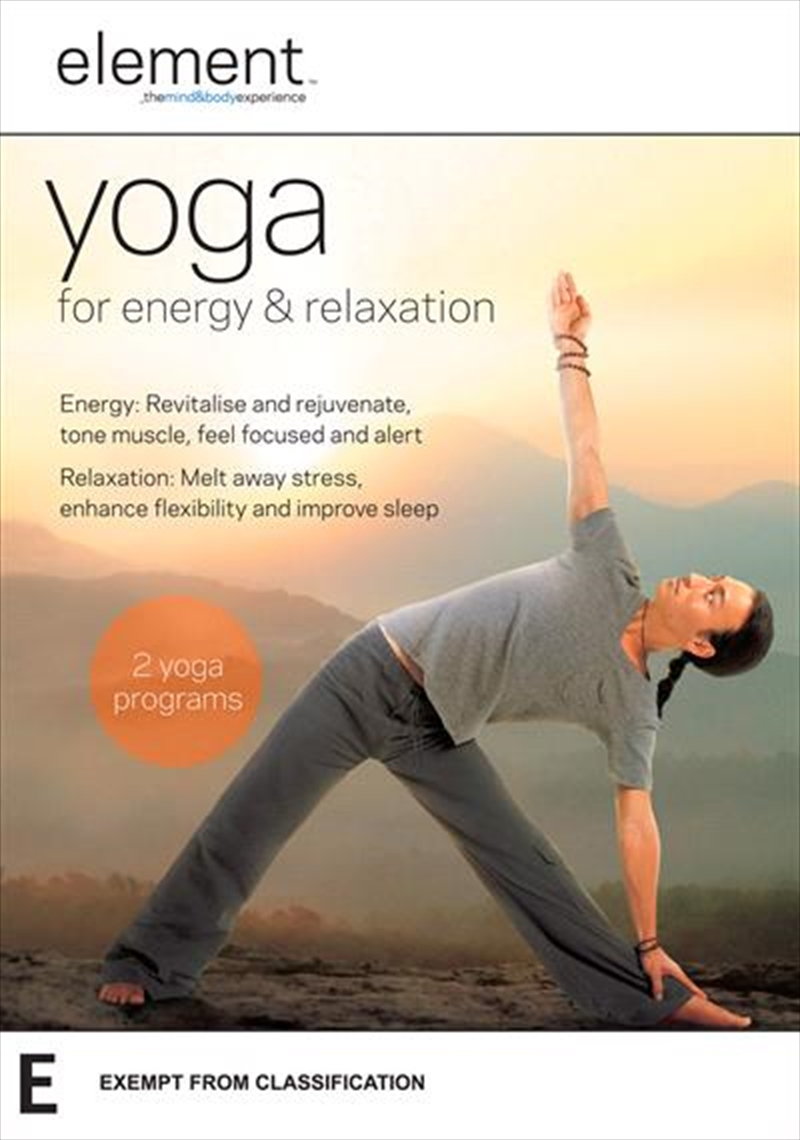 Element - Yoga For Energy and Relaxation | DVD