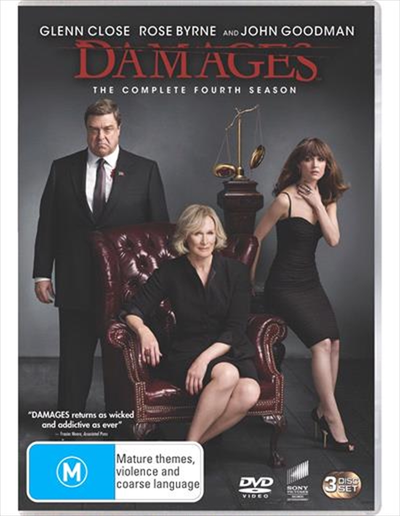 Damages - Season 4 | DVD