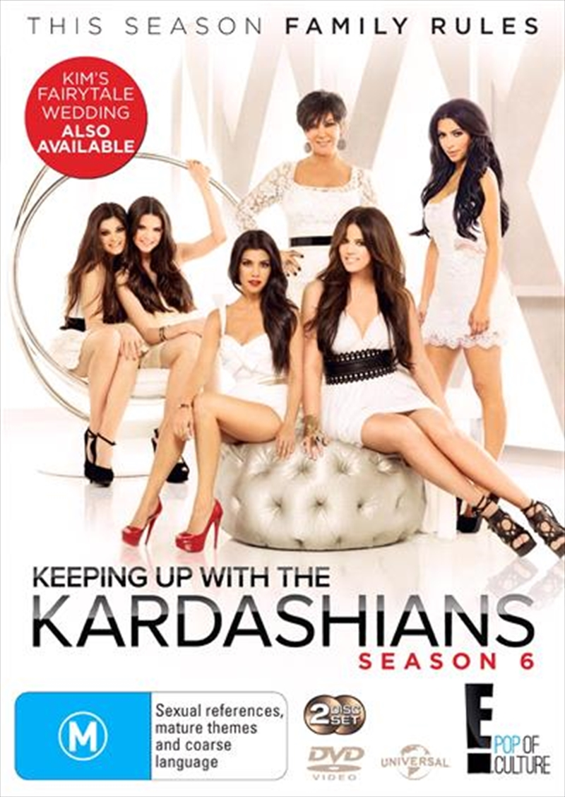 Keeping Up With The Kardashians - Season 6 | DVD