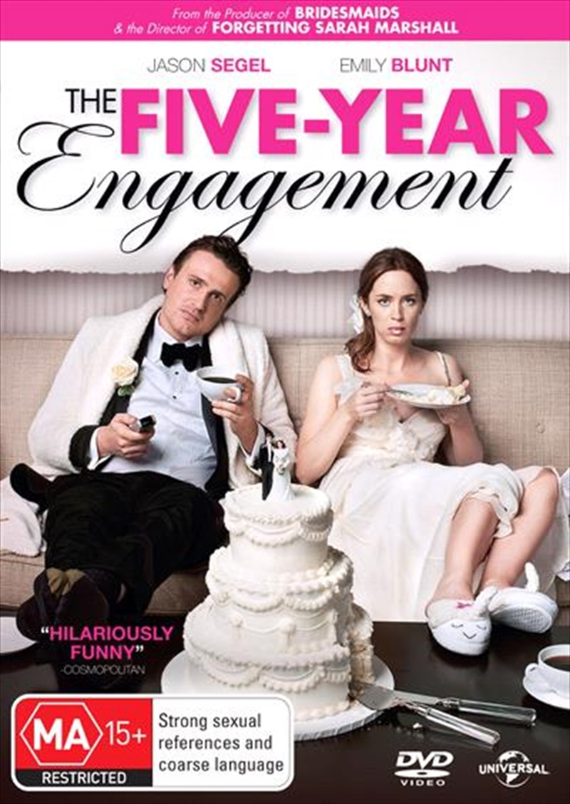 Five Year Engagement, The | DVD