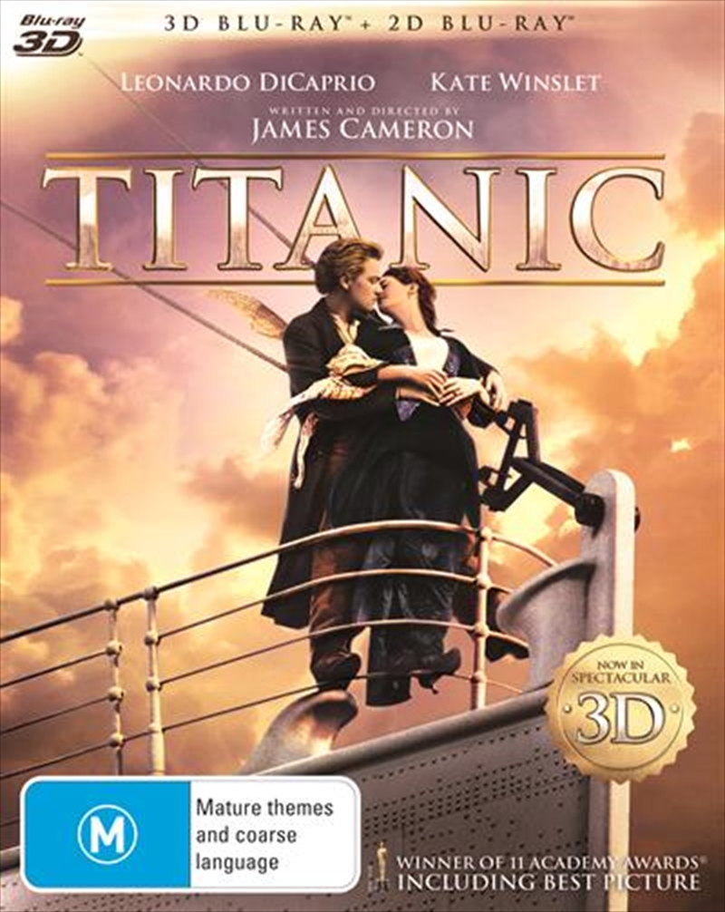 Titanic - Digitally Remastered Edition | Blu-ray 3D