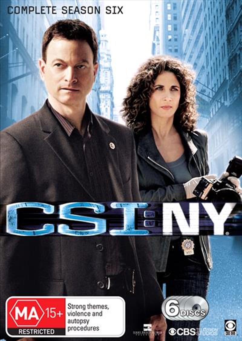 CSI: NY - Season 06 | DVD