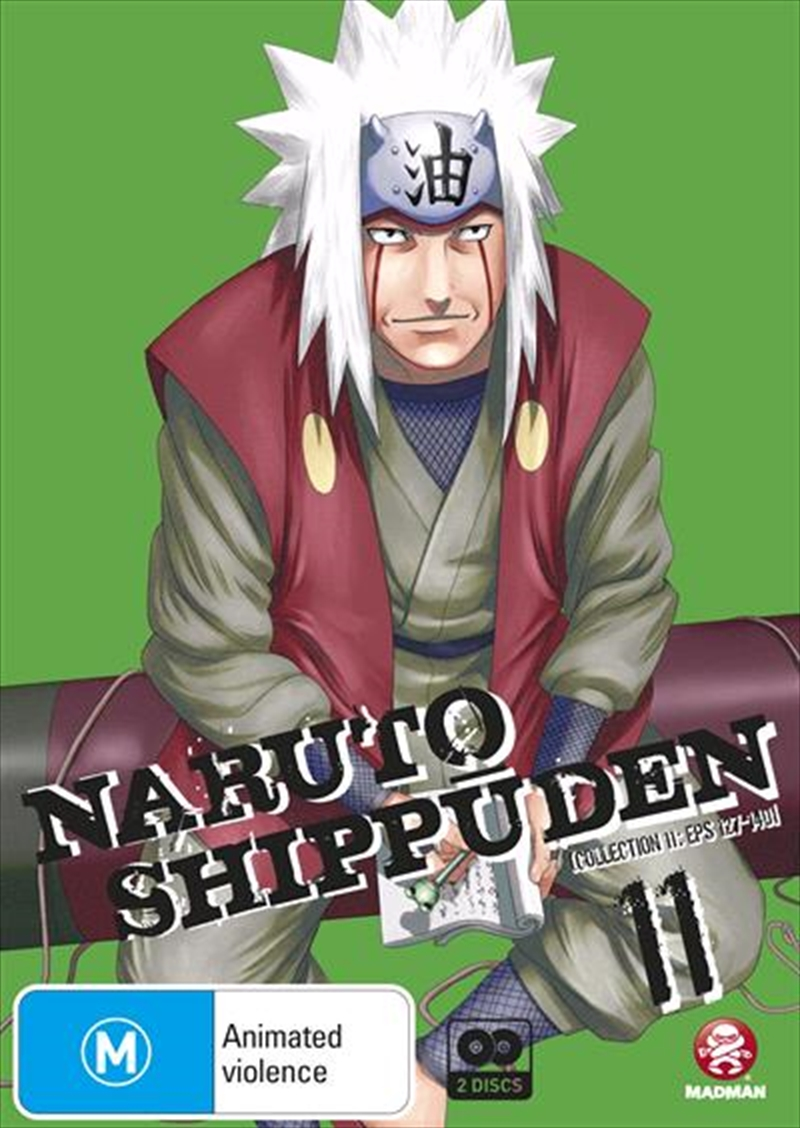 Naruto Shippuden - Collection 11 - Eps 127-140 | DVD
