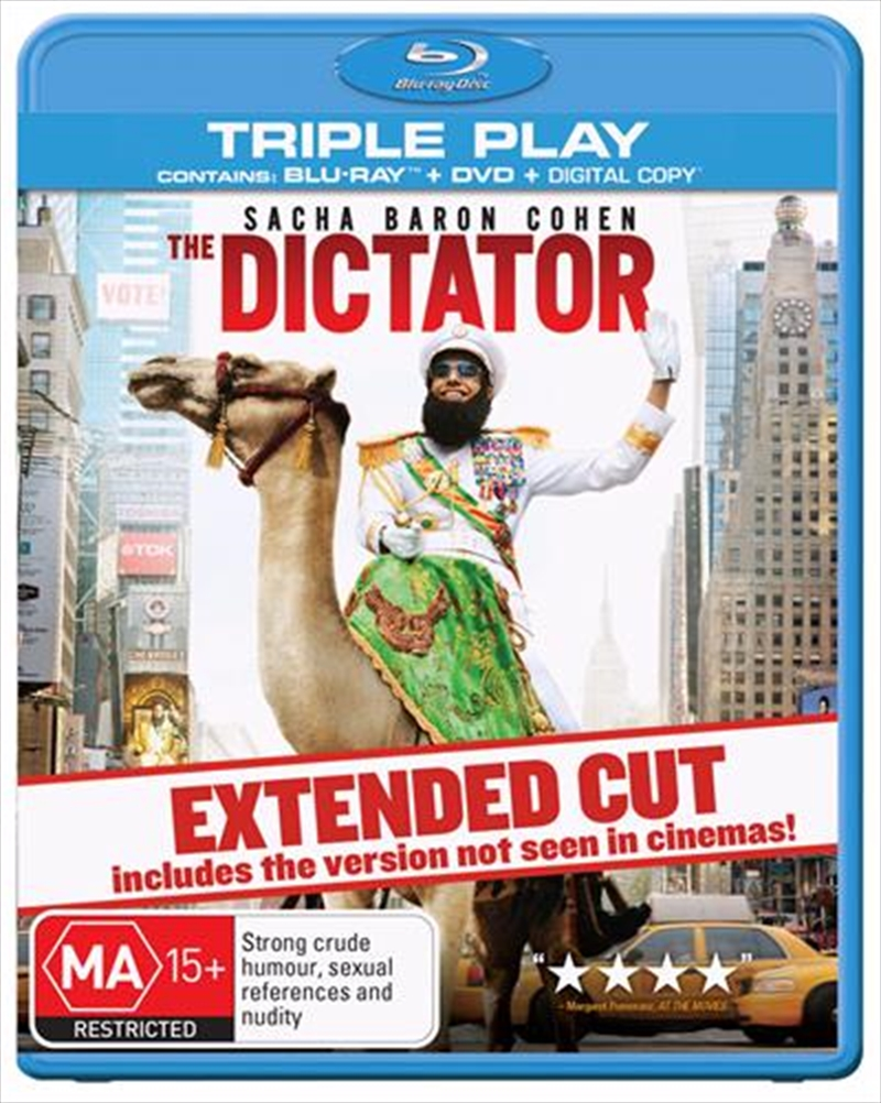 Dictator - Extended Edition, The | Blu-ray/DVD