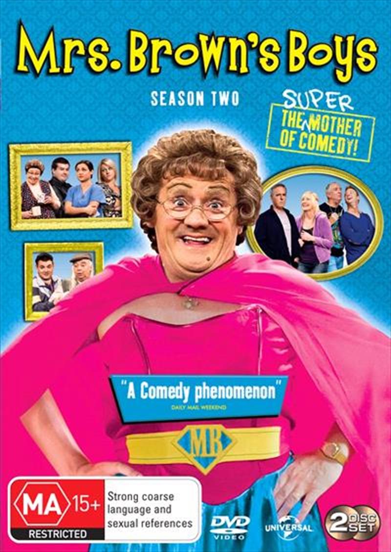 Mrs. Brown's Boys - Series 2 | DVD