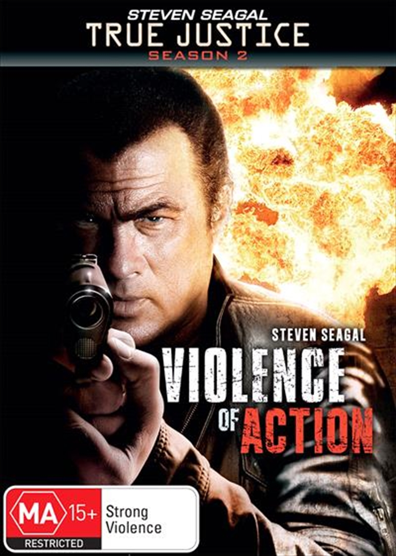 True Justice - Violence Of Action | DVD