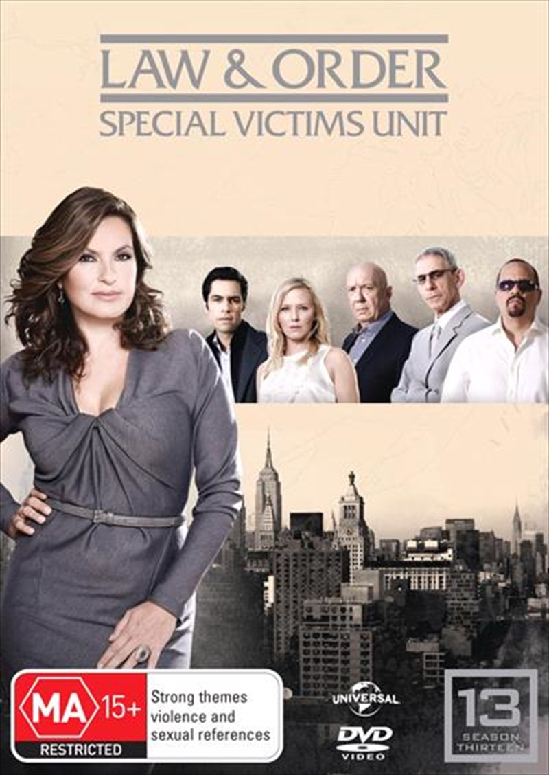 Law And Order: Special Victims Unit - Season 13 | DVD