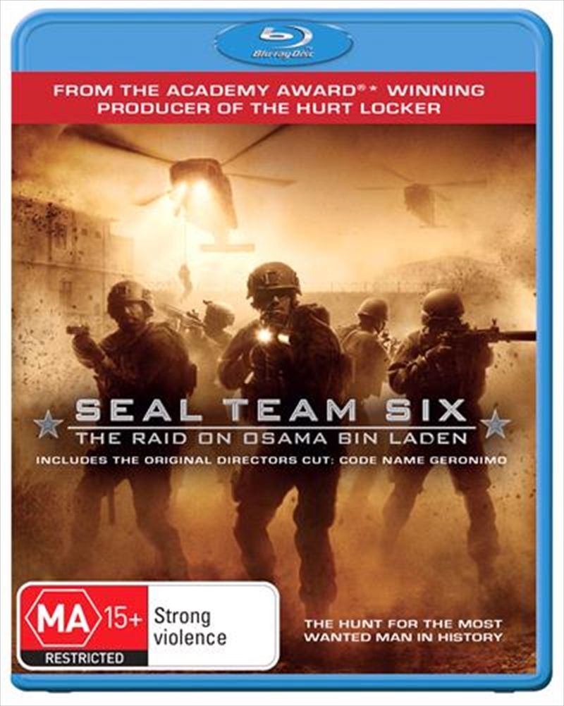 Seal Team Six - The Raid on Osama Bin Laden | Blu-ray