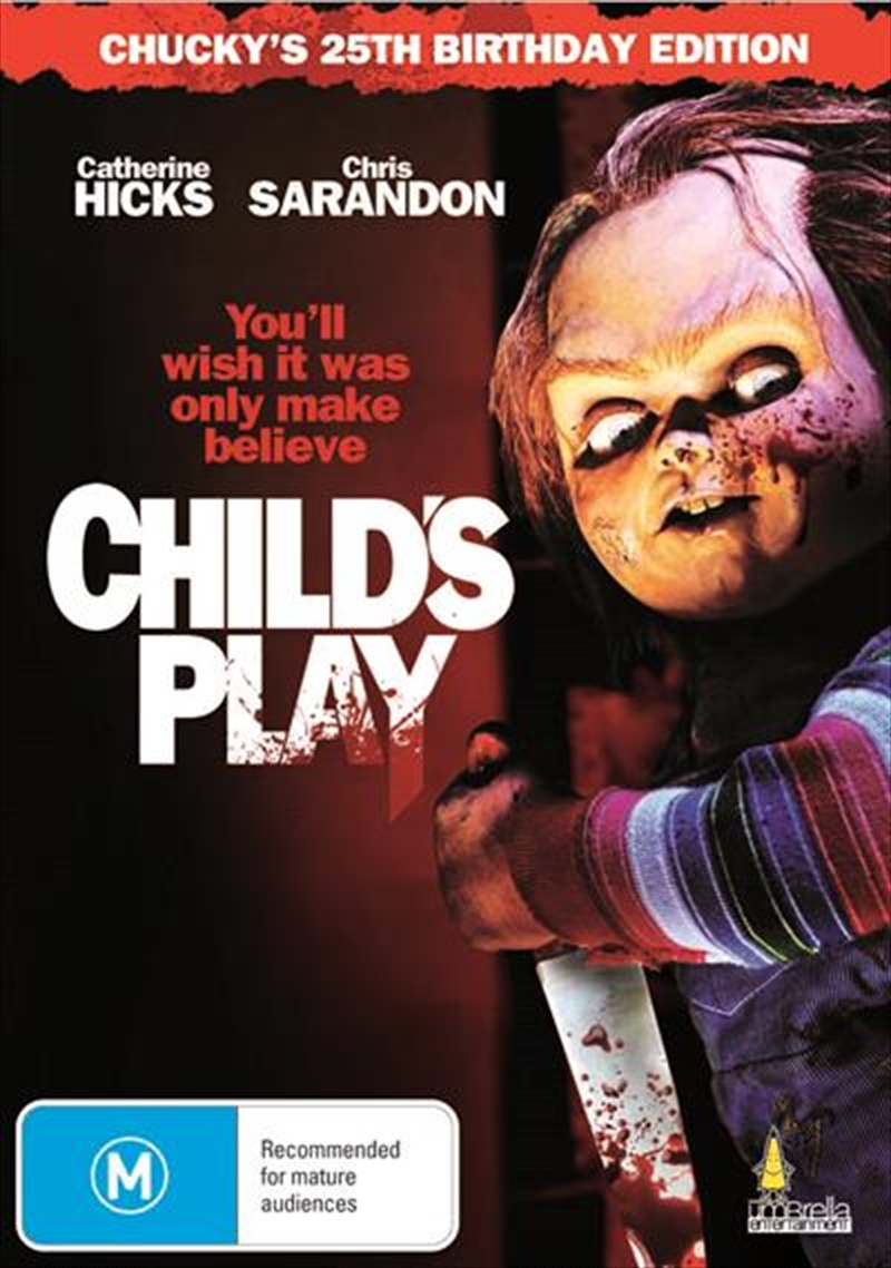 Child's Play Chucky's 25th Birthday Edition | DVD