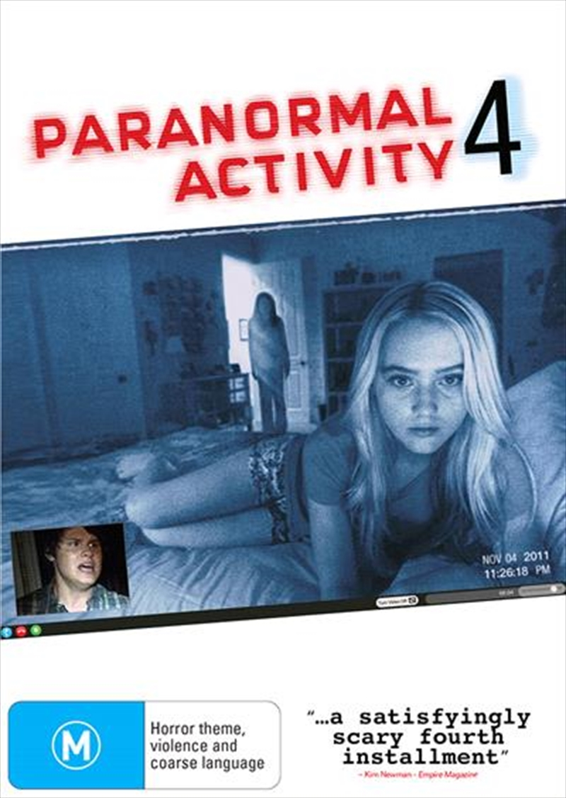 Paranormal Activity 4 | DVD