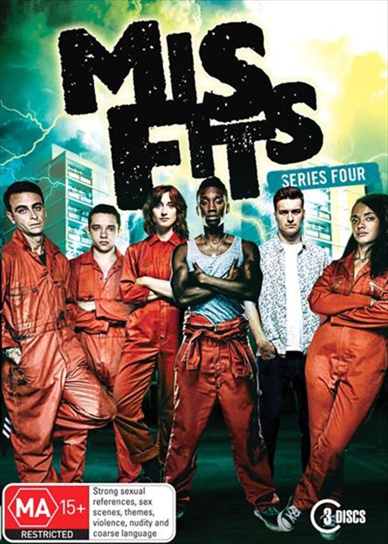 Misfits - Series 4 | DVD