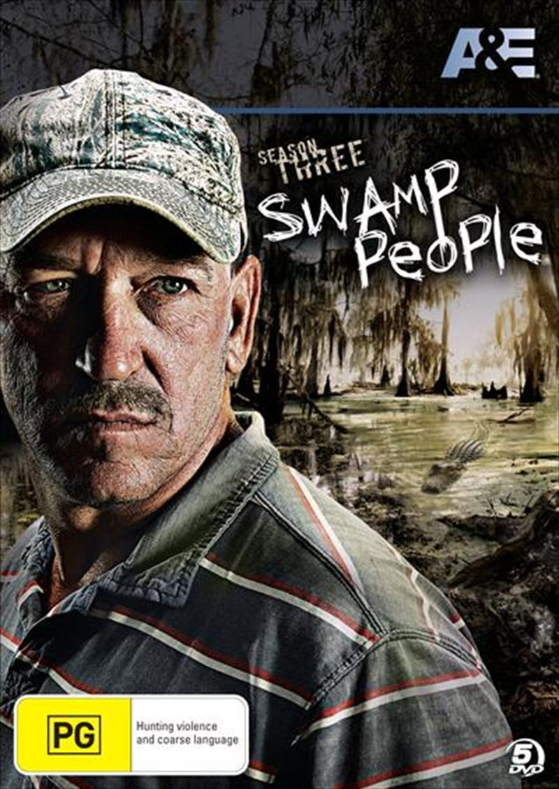 Swamp People - Season 3 | DVD