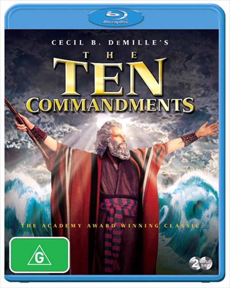 Ten Commandments, The | Blu-ray