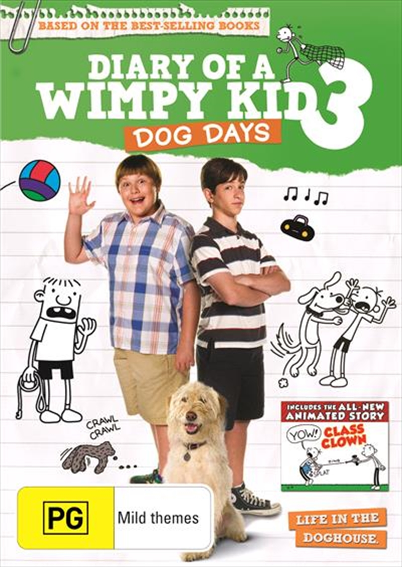 Diary Of A Wimpy Kid - Dog Days | DVD