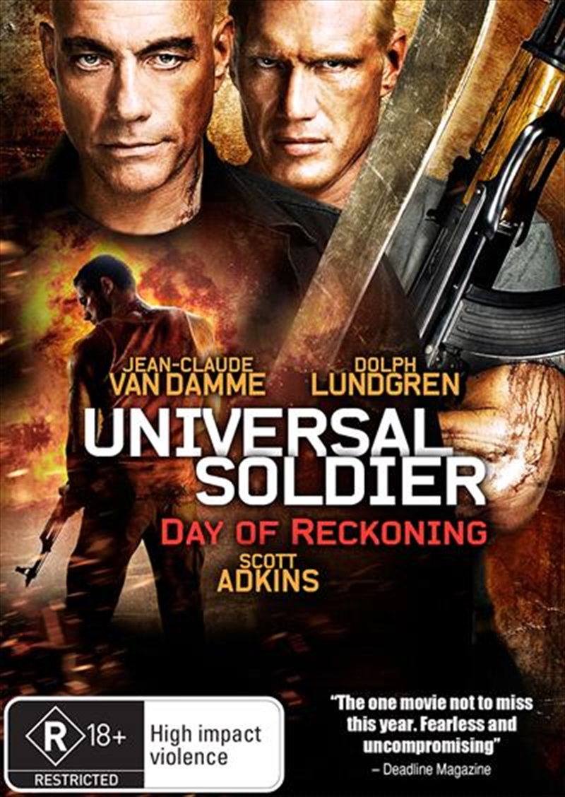 Universal Soldier 4 - Day Of Reckoning | DVD