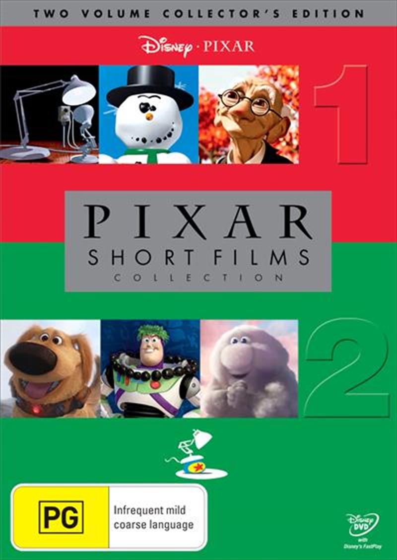 Pixar Short Films Collection Vol 1 2 Boxset Disney