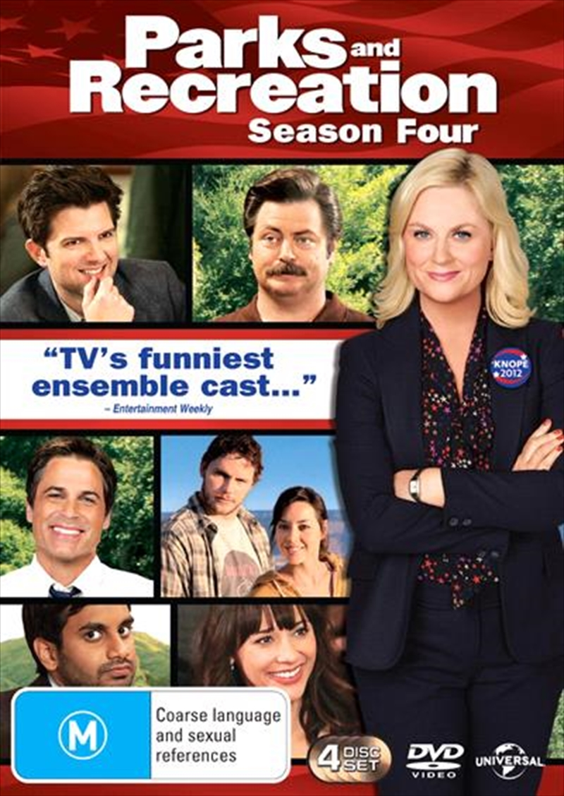 Parks And Recreation - Season 4 | DVD