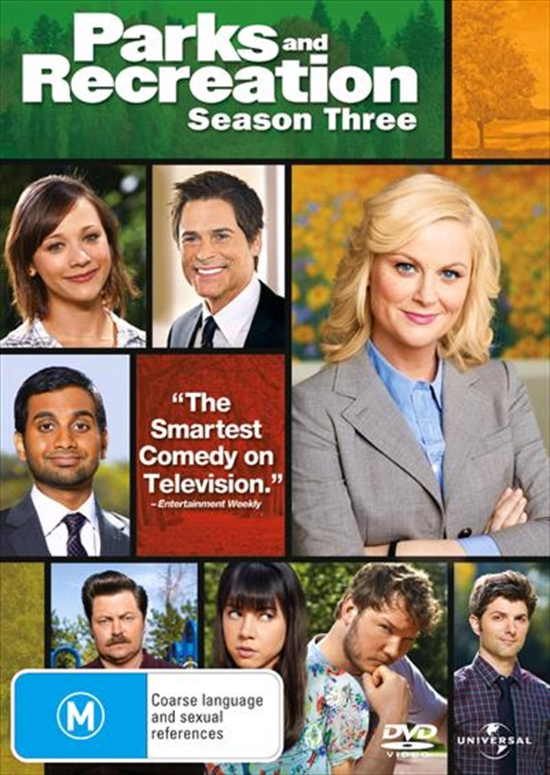Parks And Recreation - Season 3 | DVD