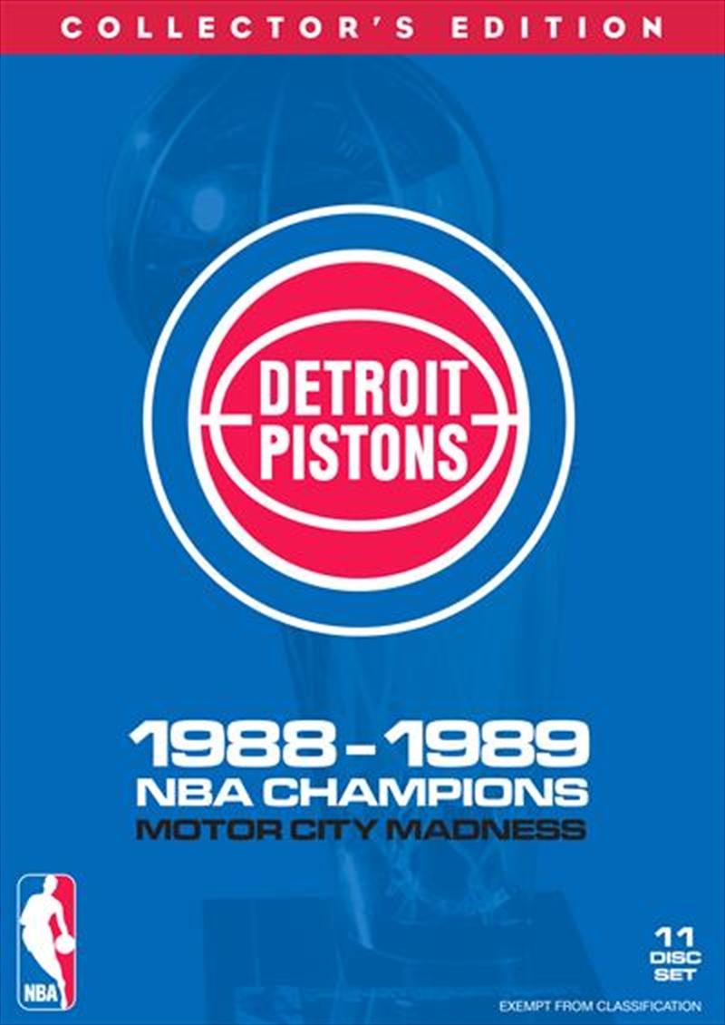 NBA: Detroit Pistons 1988-89 Champions Boxset   DVD