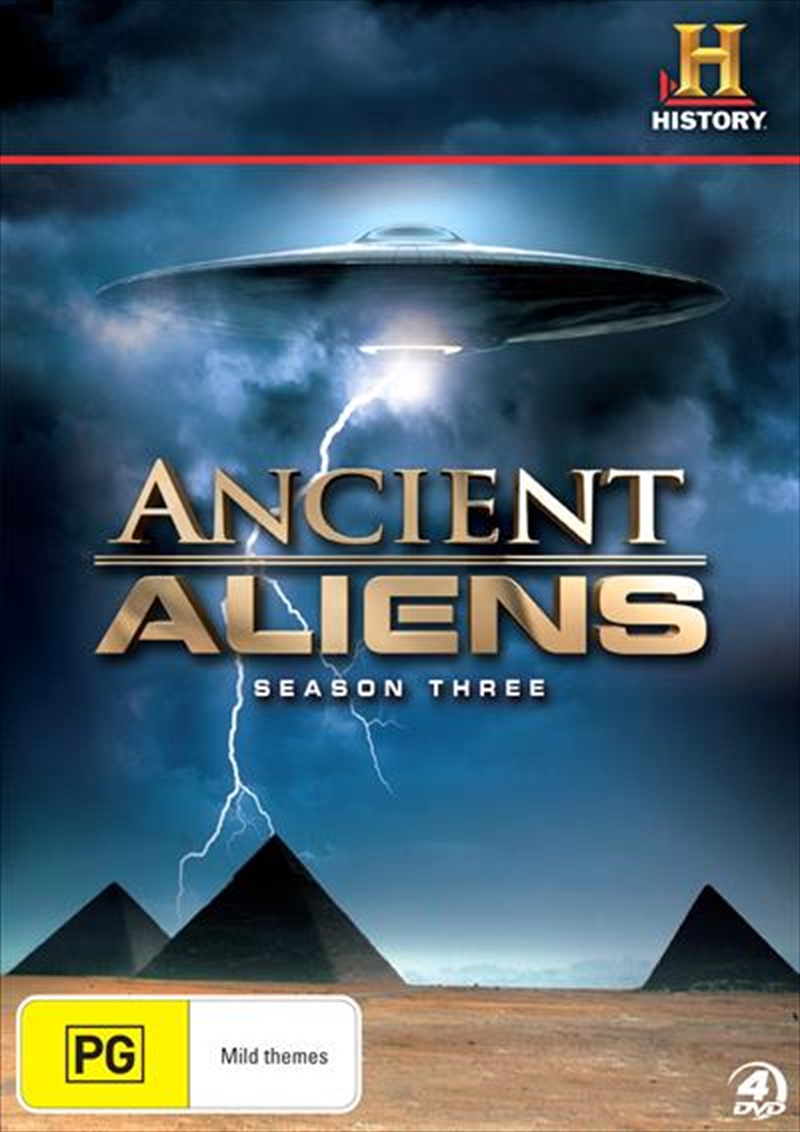 Ancient Aliens: Season 3 | DVD