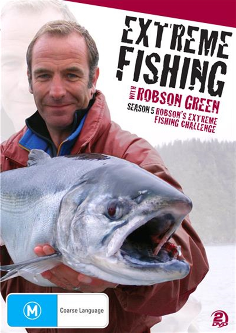 Extreme Fishing With Robson Green - Season 5   DVD