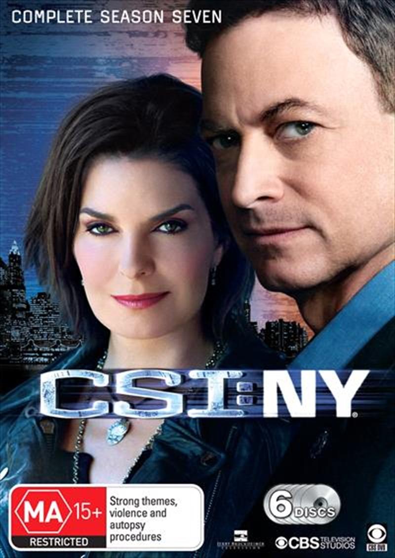 CSI: NY - Season 07 | DVD
