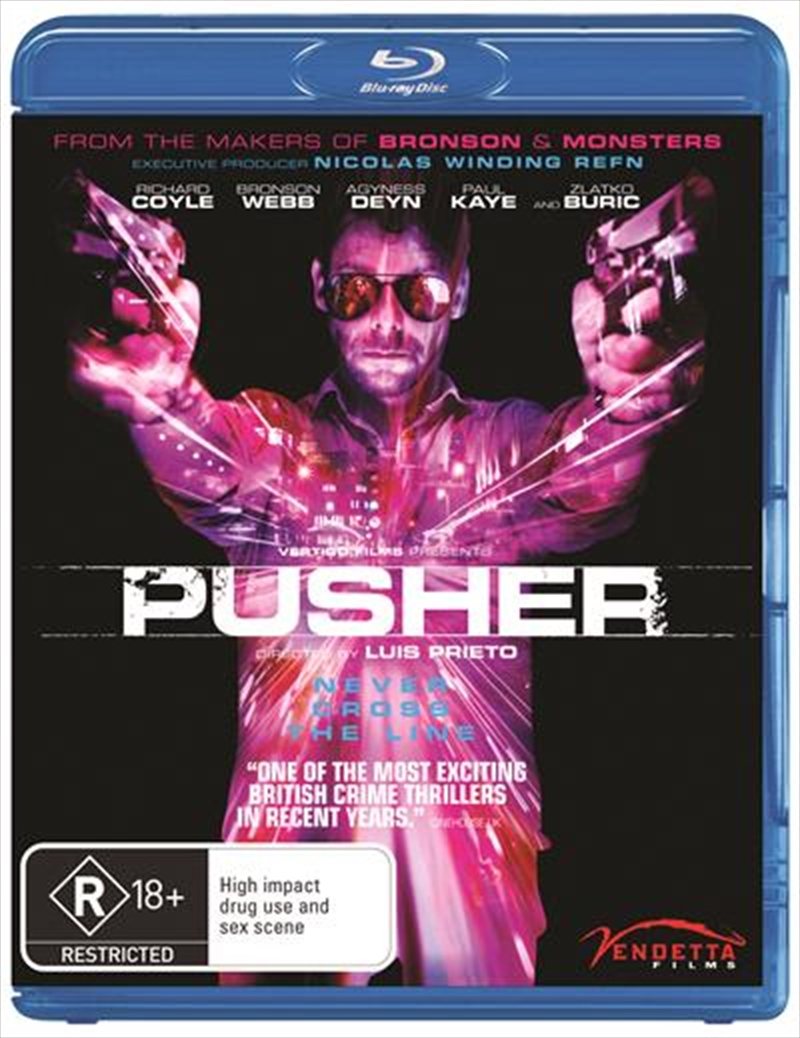 Pusher   Blu-ray