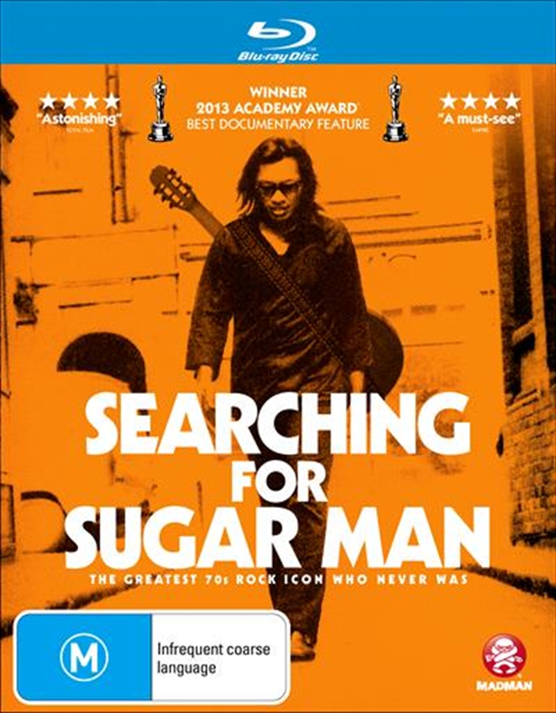Searching For Sugar Man   Blu-ray