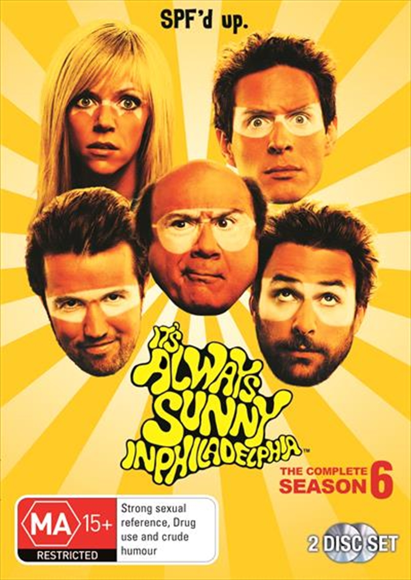 It's Always Sunny In Philadelphia - Season 6 | DVD