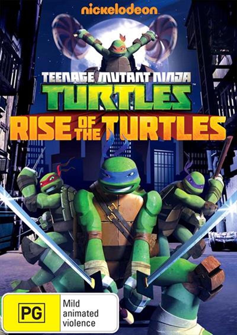 Teenage Mutant Ninja Turtles - Rise Of The Turtles | DVD