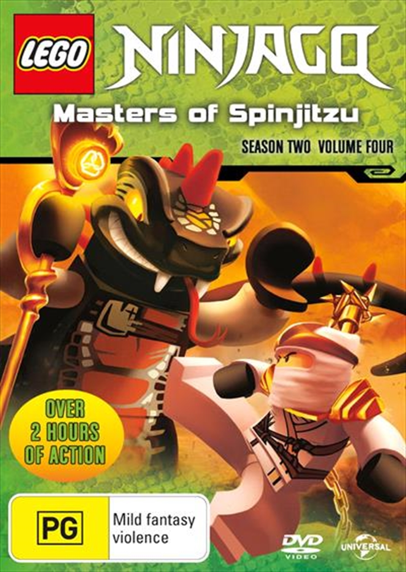 LEGO Ninjago - Masters of Spinjitzu - Series 2 - Vol 4 | DVD