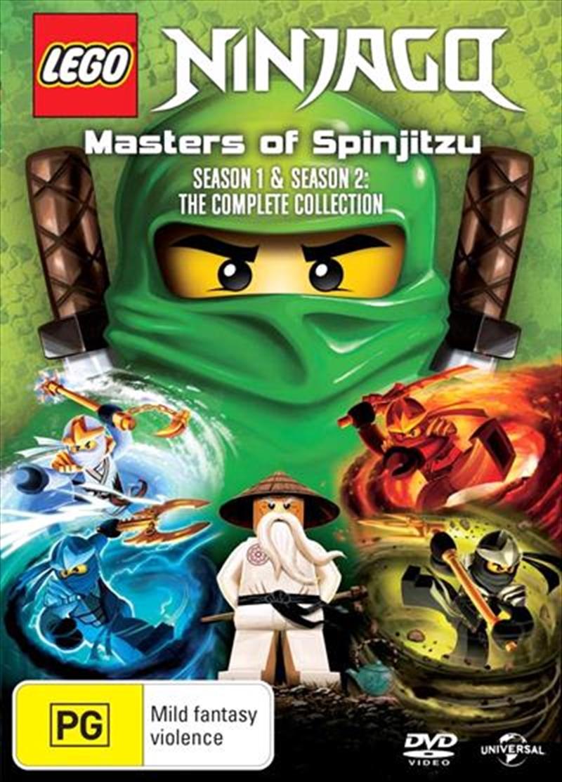 Buy LEGO Ninjago Masters of Spinjitzu Series 1-2 Boxset ...