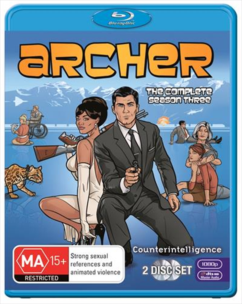 Archer - Season 3 | Blu-ray