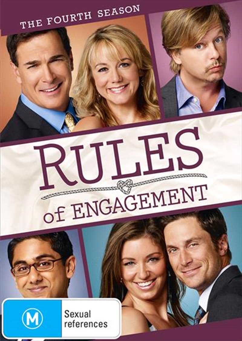 Rules Of Engagement - Season 4 | DVD