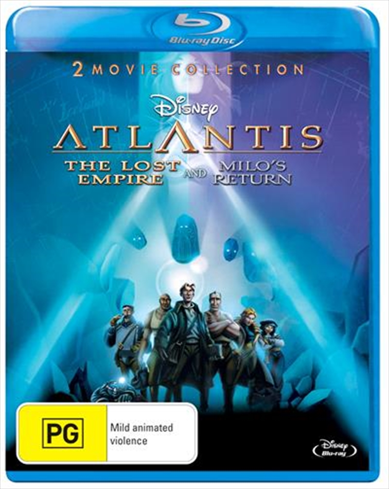 Atlantis: The Lost Empire/Atlantis: Milo's Return | Blu-ray