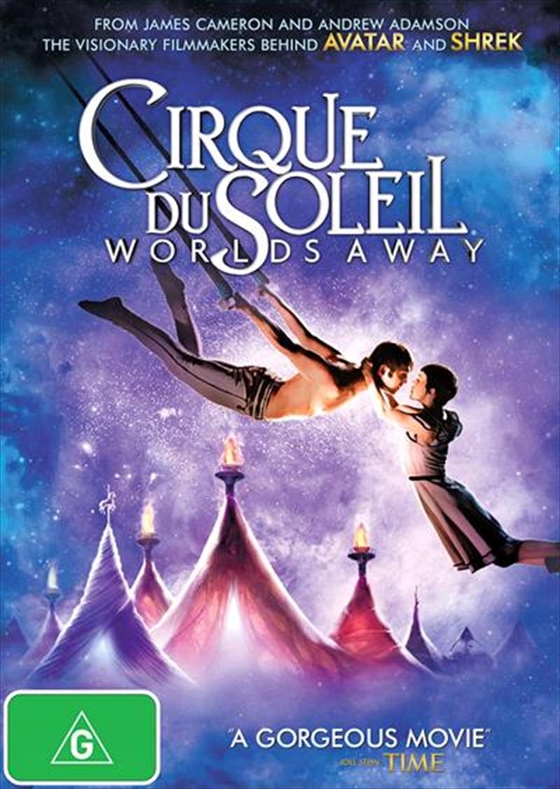 Cirque Du Soleil - Worlds Away | DVD