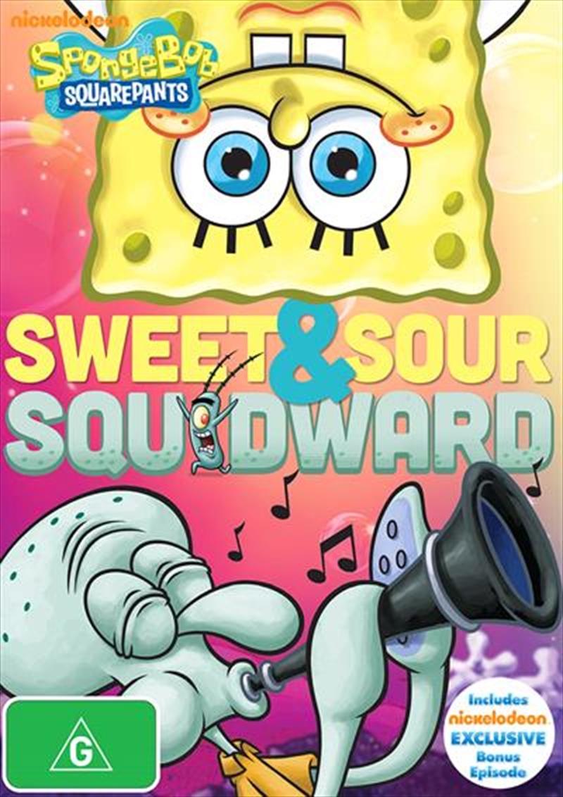 Spongebob Squarepants - Sweet And Sour Squidward | DVD