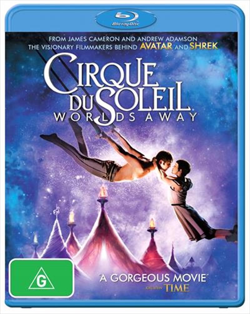 Cirque Du Soleil - Worlds Away   Blu-ray