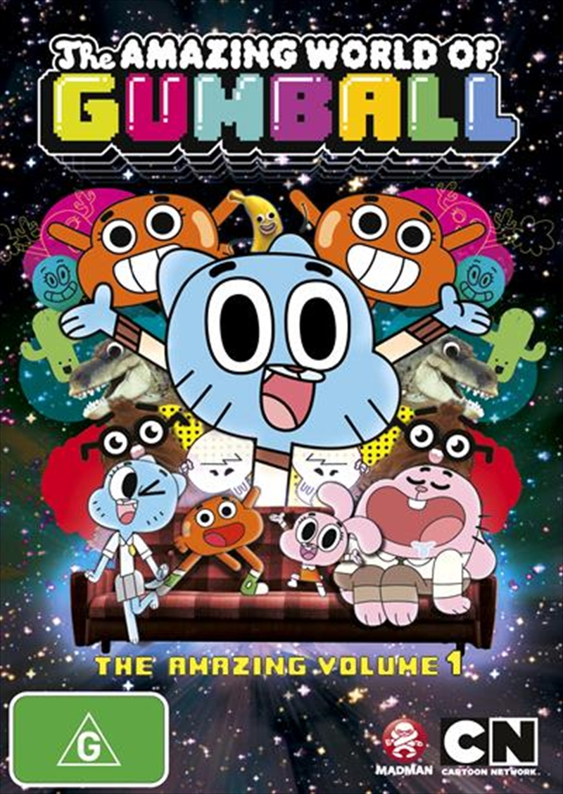 Amazing World Of Gumball - Vol 1, The | DVD